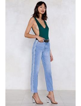 Choose Sides Mom Jeans by Nasty Gal