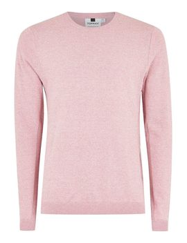 Orchid White Twist Side Ribbed Sweater by Topman