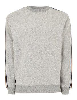 Gray Taped Sweatshirt by Topman