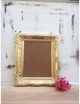 8x10, Gold, Vintage Style Baroque Picture Frame, Photo, Wedding, Home, Nursery, Wall Decor, Ornate, Shabby Chic, French Country by Etsy