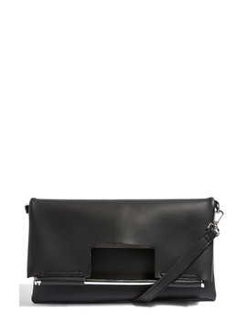 Lotus Metal Handle Clutch Bag by Topshop