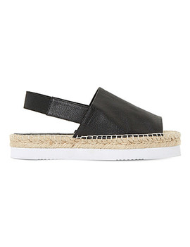 Lucindie Leather Espadrille Sandals by Dune