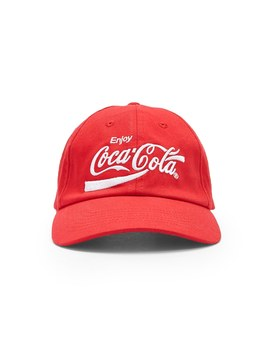 Coca Cola Graphic Dad Cap by Forever 21