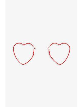 Heart Shaped Earrings by Monki