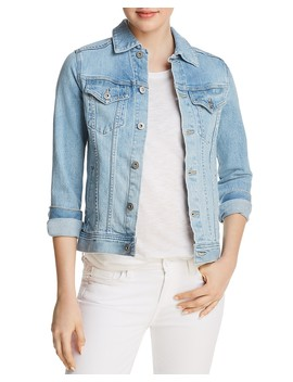 Mya Denim Jacket In Sunlight Blue by Ag