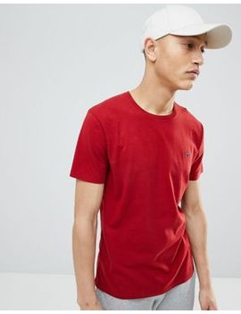 Abercrombie & Fitch Moose Icon Logo Crew Neck T Shirt In Red by Abercrombie & Fitch