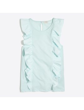 Ruffle Front Top by J.Crew