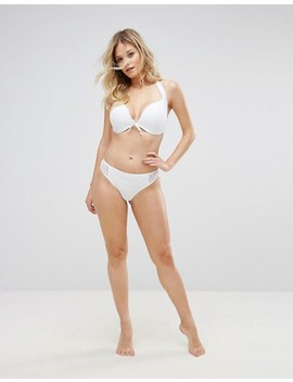 Pour Moi Crochet Padded Halter Bikini Top B G Cup by Pour Moi