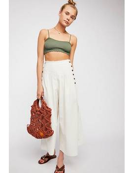 Side Slit Wide Leg Pants by Free People