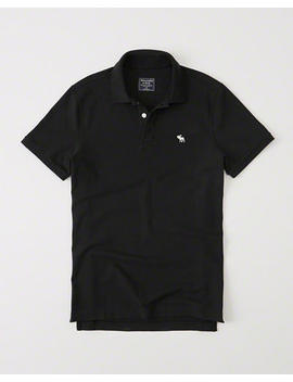 Stretch Icon Polo by Abercrombie & Fitch