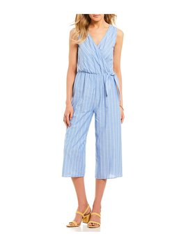 Stripe Culotte Jumpsuit by Gb