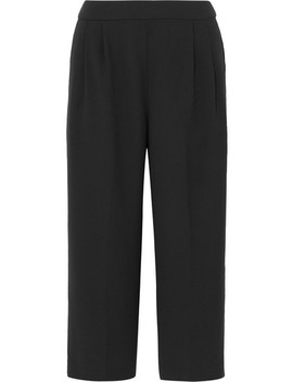 Crepe Wide Leg Culottes by J.Crew