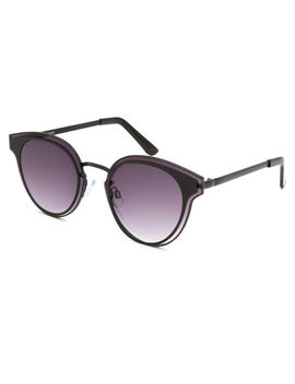 Full Tilt Frameless Cat Eye Sunglasses by Full Tilt
