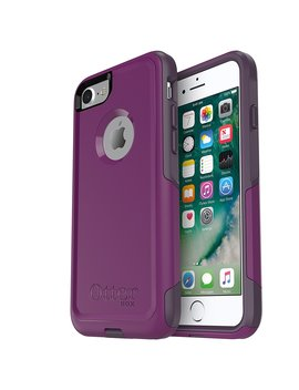 Otter Box Commuter Series Case For I Phone 8 & I Phone 7 (Not Plus)   Frustration Free Packaging   Plum Way (Plum Haze/Night Purple) by Otter Box