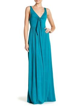 Front Twist Tie Maxi Dress by Vanity Room