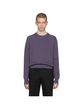 Multicolor Marled Sweater by Stella Mccartney