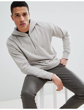 Only & Sons Half Zip Hoodie by Only & Sons
