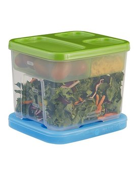 Rubbermaid Lunch Blox Container Salad Kit by Rubbermaid