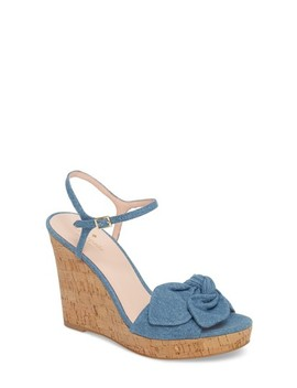 Janae Knot Platform Wedge Sandal by Kate Spade New York