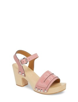 Refined Penny Loafer Clog Sandal by Hunter