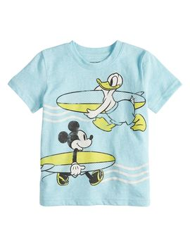 Disney's Mickey Mouse & Donald Duck Toddler Boy Graphic Tee By Jumping Beans® by Disney's Mickey Mouse & Donald Duck Toddler Boy Graphic Tee By Jumping Beans