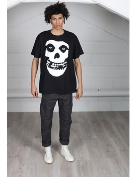 Misfits Skull Unisex T Shirt by Cosmic Saint