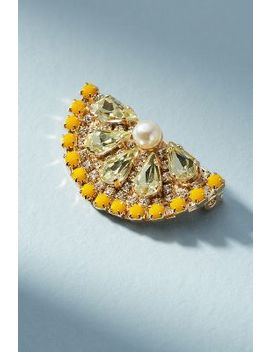 Lemon Slice Brooch by Anton Heunis