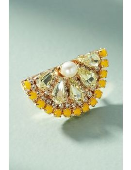 Lemon Slice Ring by Anton Heunis