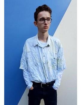 Light Patterned Shirt by Ninety Five