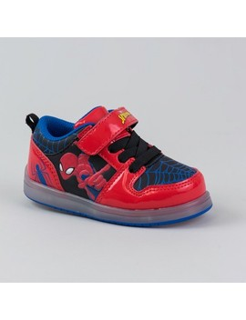 Toddler Boys' Spiderman Sneakers   Black by Marvel