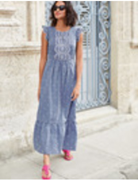 Lucinda Broderie Dress by Boden