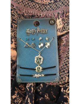 Harry Potter Jewellery Necklace Earrings Primark by Ebay Seller