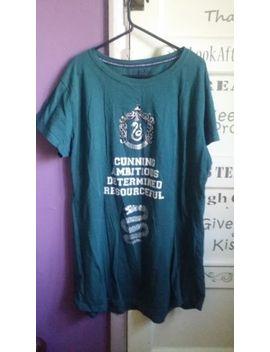Ladies Slytherin Nightie Nightwear Pyjamas Harry Potter Size L (14 16) by Ebay Seller