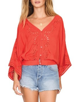 Serenade Flare Sleeve Top by Amuse Society