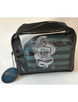 Primark Harry Potter Slytherin 3 In 1 Make Up / Cosmetic / Toiletries Bag by Ebay Seller