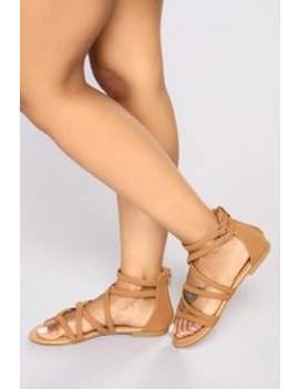 Festival Babe Sandals   Tan by Fashion Nova
