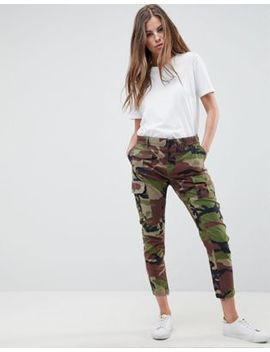 Replay Camo Cargo Pant by Replay