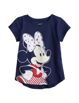 Disney's Minnie Mouse Toddler Girl Patriotic Graphic Tee By Jumping Beans® by Disney's Minnie Mouse Toddler Girl Patriotic Graphic Tee By Jumping Beans