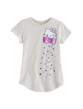 Toddler Girl Jumping Beans® Hello Kitty® Shiny Bow Graphic Tee by Toddler Girl Jumping Beans