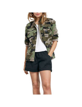 Hush Camo Military Jacket, Camo by Hush