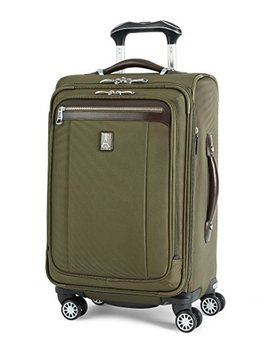 Travelpro Platinum Magna 2 Carry On Expandable Spinner Suiter Suitcase, 21 In., Olive by Travelpro