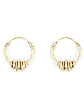 Wrapped Wire Hoop Earrings by Wouters & Hendrix