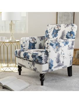 Boaz Floral Fabric Club Chair By Christopher Knight Home by Christopher Knight Home
