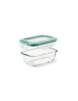 Oxo Good Grips® Smart Seal Rectangle Glass Snap Container by Bed Bath And Beyond