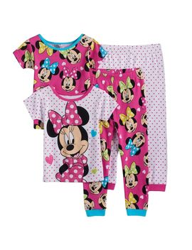 Disney's Minnie Mouse Toddler Girl 4 Pc. Pajama Set by Kohl's