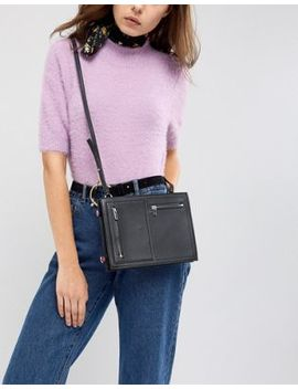 French Connection Upside Down Crossbody Bag by French Connection