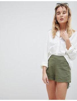 Asos Design Basic Ruched Side Shorts by Asos Design