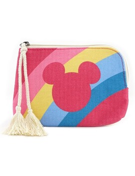 Junk Food Mickey Mouse Rainbow Coin Purse by Junk Food