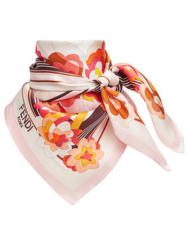 Floral Square Scarfhome Women Accessories Scarves by Fendi