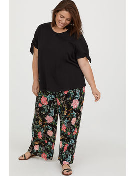 H&Amp;M+ Wide Leg Pants by H&M